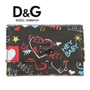 *DOLCE & GABBANA*18-19秋冬 グラフィティ ミニ ウォレット 【国内発送 / 関税込み】