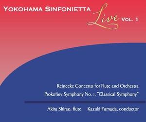 YOKOHAMA SINFONIETTA Live Vol.1