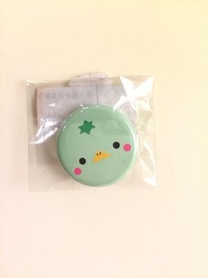 缶バッチ(小)カッパ薄緑