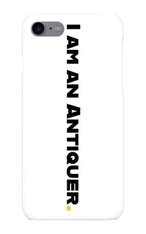 ANTIQUER スマートフォンケース iPhone7/8  [白・縦]
