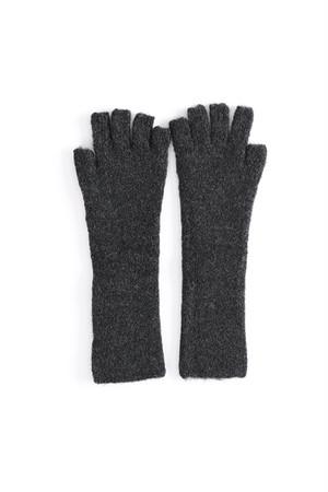 Knit Gloves / ISABEL BENENATO / GRAPHITE