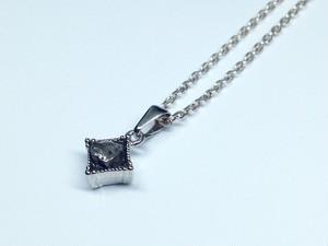 隕石ネックレス(シルバー・スクエア)
