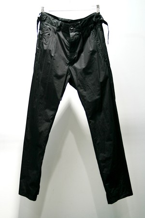 【72%OFF】【nude:masahiko maruyama】Cotton twill products dyed  Pants (BLK)