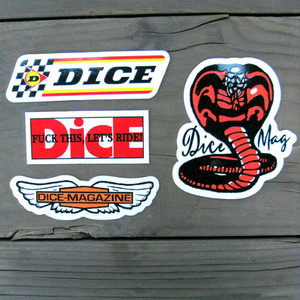 DicE 4 sticker pack