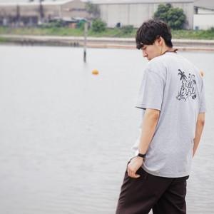 American T-shirts【Gray】