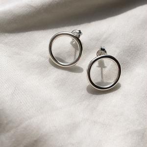 Silver925 mini circle pierced 0031