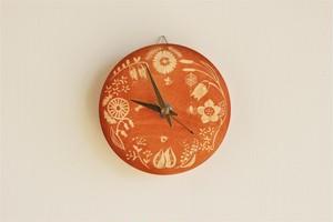 《草木染め》時計 たまねぎ染め:Botanical