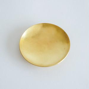 minimal plate <utsuwa-SS> / brass