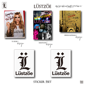 Lüstzöe 5 sticker set