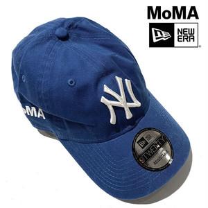 【ニューヨーク MoMA!】MoMA Design NY Yankees ヤンキース ニューエラ MoMA限定キャップ Bright Royal【moma001-blue】