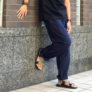 Yarn Dyed Chef Pants Black & Navy Houndtooth