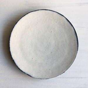 丸皿(薄氷色)