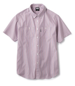 FTC / LIGHT WEIGHT OXFORD B.D. SHIRT -STRIPE-