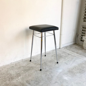 """Brabantia"" Kitchen Stool / BLACK  オランダ ブラバンシア 1960's"