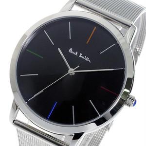 ポールスミス PAUL SMITH エムエー MA クオーツ メンズ 腕時計 P10055 ブラック ブラック