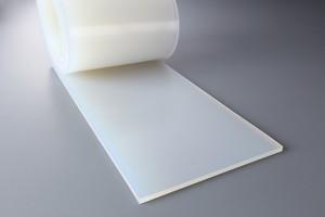 シリコーンゴム A50  4t (厚)x 300mm(幅) x 1000mm(長さ)乳白 ※食品衛生法適合品
