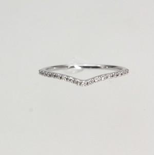 K18WG ダイアモンドリング