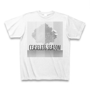 【ジャケT】「CEASELESS SEASON」CDジャケットTシャツ(monochrome)