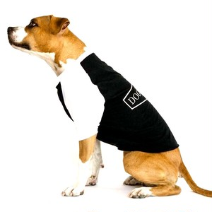 DOGGY BRO.(ドギーブロ) ラグランTシャツ/ブラック