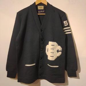 50~60's Dehen Lettered cardigan