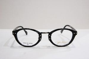 福井県鯖江産 John Lennon JL-6010 C-2 ブラックデミ