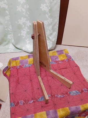 R.M.kajimba/craft&junkオリジナルウクレレスタンド/002