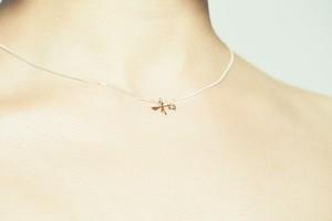 【mimiwa】Wa Sliver Necklace 和 シルバー ネックレス