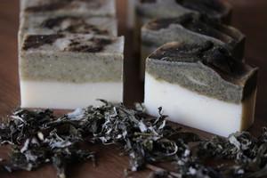 手作り石けんオーダー  【豆乳マルセイユ】  半棹・ハーフサイズ