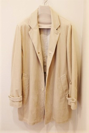 Harriss Corduroy Chesterfield Coat