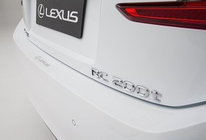 Lexus Rear Bumper Applique
