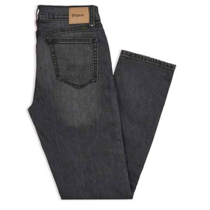 "BRIXTON""RESERVE 5-POCKET DENIM PANT【WORN BLACK】"" デニム"