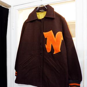 アメリカ古着 1970s USA製 vintage ウール スタジャン