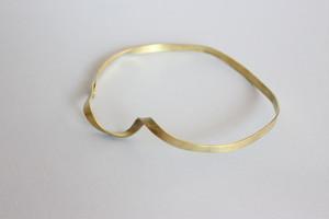 円の模索 円 no.2   brass