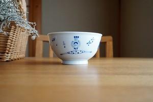 砥部焼/茶漬碗/バレリーナ/森陶房kaori