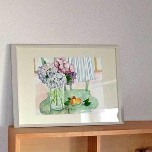 A4ポスター 紫陽花 AP09