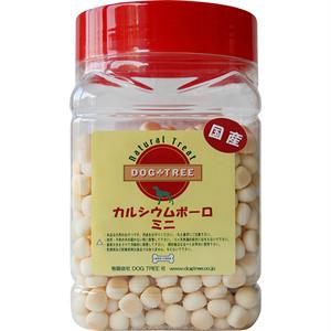 【ドッグツリー】カルシウムボーロ ミニ 角ボトル