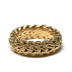"""Vintage """"JOHN HARDY"""" 18k Gold Ring"""