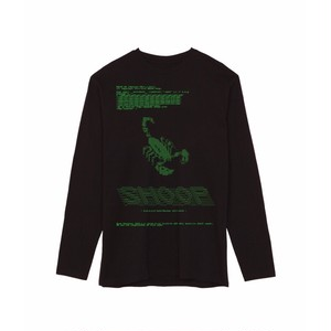 SHOOP SCORPION CODE LONG TEE