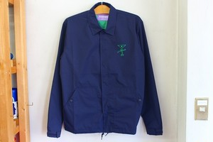 Alltimers FINESSE COACHES JACKET [NAVY]