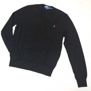 Polo by Ralph Lauren ラルフローレン 刺繍 ポニーロゴ 長袖 ウールニット セーター