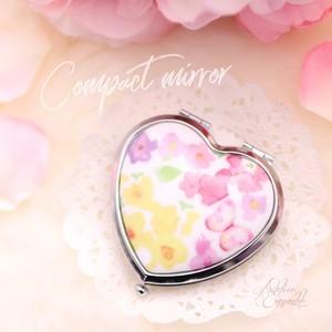 Compact mirror(Heart)