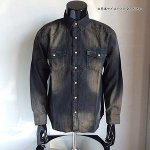 96409-18AC ウォッシュドシャンブレーシャツ