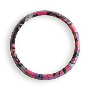 グリルバッジホルダー交換用リング(ピンク迷彩柄)