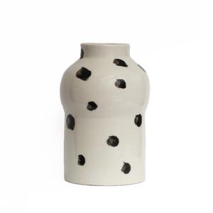 CANASA (カナサ) Flower vase (フラワーベース・花器) ドットベース M
