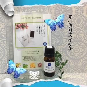 花粉の季節・鼻トラブル対策のお助けアロマ【15、すっきりスイッチ】アロマde健康シリーズ