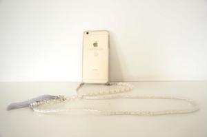 chainelle iPhoneケース&ストラップ_PEARL  日本限定デザイン