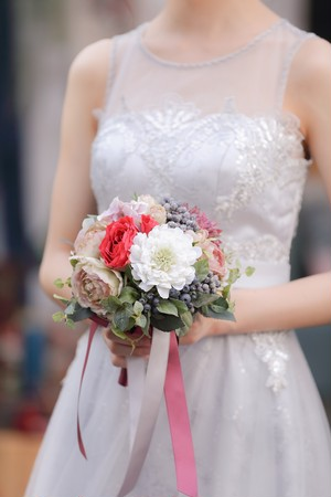 【Rental】No1 Round bouquet