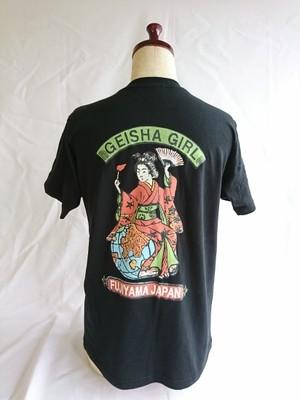 オリジナル 芸者GIRLTシャツ 黒