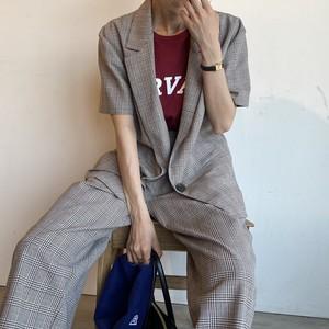 check set up【long pants ver.】