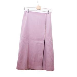 NOBLE / ノーブル   2019AW   ジップAラインスカート   38   ピンク